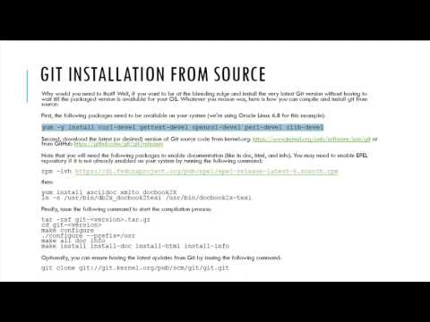 Git and GitHub Essentials - Git Installation from Source
