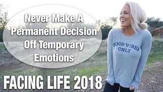 Facing Life 2018 | Moving? Life Update...