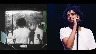J Cole is Dropping a 10 Track Album called '4 Your Eyes Only' on December 9th!