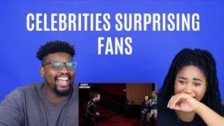 Celebrities Surprising Fans| REACTION
