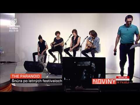 The Paranoid - The Paranoid - Zachráň ma (akustická) - TV JOJ