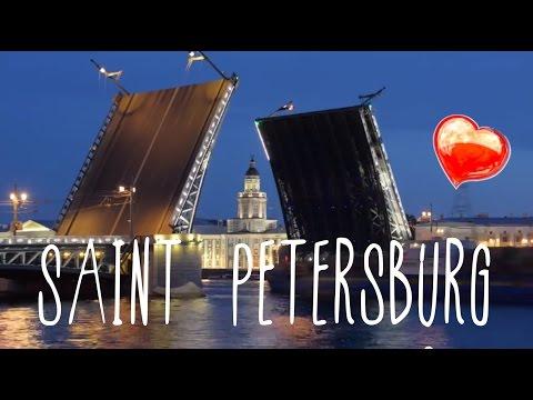 Go Russia: summer white nights in Saint Petersburg, vlog