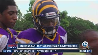 Lamar Jackson's path to college stardom began in Boynton Beach