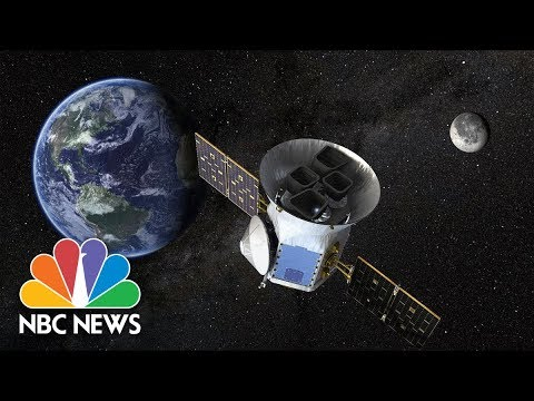NASA's TESS Planet-Hunting Satellite Launches Into Space | NBC News