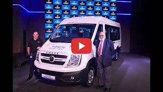 Force Motors T1N van   electric   interior   expected price  range