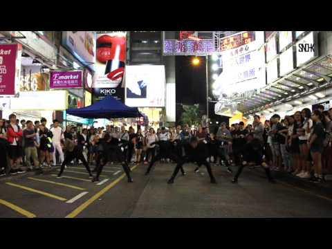 BTS( 방탄소년단) - FIRE (불타오르네) Dance Cover || Halloween Special Flash Mob by SNDHK