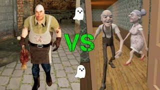 Ghost Modes | Grandpa And Granny vs Mr. Meat