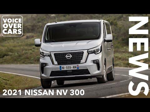2021 Nissan NV 300 Facelift - moderner Innenraum!    Voice over Cars News