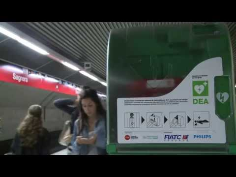 Barcelona tindrà la primera xarxa sencera de metro cardioprotegida d'Europa