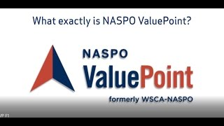 Benefits of Participating in the NASPO ValuePoint Cooperative