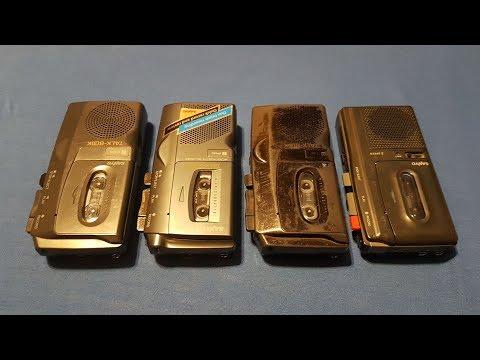 Diktiergeräte mit Kassette   ¦¦¦   EMPFEHLUNG