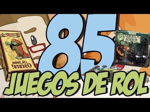 TOP JUEGOS DE ROL DE CARTAS Y DE MESA: Son como videojuegos pero sin vídeo.