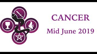 Cancer - A great big door opens for You!!! - June Mid-month