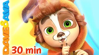 😻 Dance a Little, Hop a Little, Jump a Little | Nursery Rhymes and Kids Songs | Dave and Ava 😻