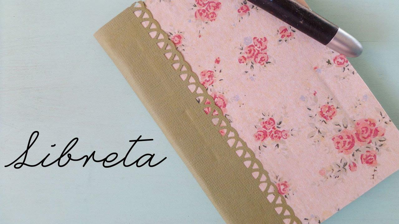 Libreta reciclada | Libreta DIY