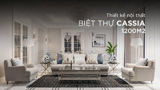 Thiết kế nội thất - Biệt thự Cassia1200m2 - Phong cách thiết...