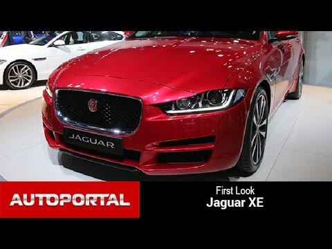 Jaguar XE First Look - Autoportal