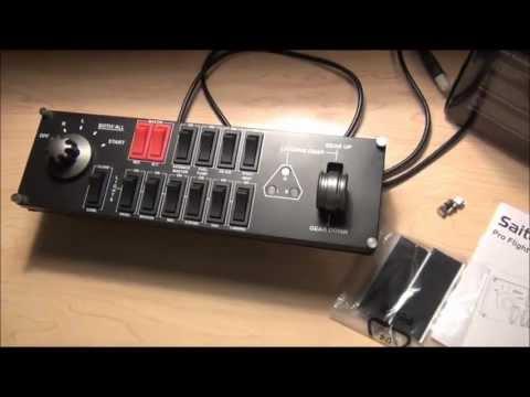 Видео № 0 из игры Saitek Pro Flight Switch Panel многофункциональная панель