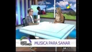 """Entrevista a Gabriel Federico en el programa de Tv """"Puentes de esperanza"""" canal America Tv."""