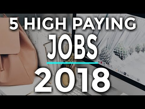 5 Highest Paying Work At Home Jobs 2018