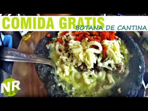 COMIDA GRATIS, botana en bar de León, Guanajuato - Vlogs -