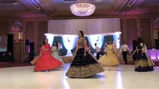 Indian Reception Dance Performance || Aankh Marey || Tum Jo Aaye || Oonchi Hai Building ||