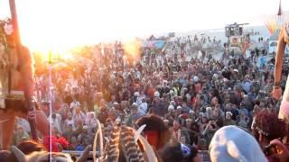 Magical Burning Man 2012 Sunrise Footage With Lee Burridge @ Robot Heart (where Else??)