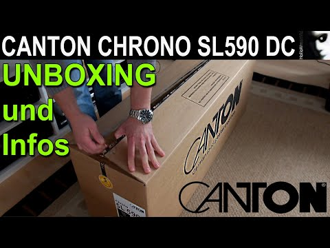 Canton Chrono SL 590 DC Unboxing & Infos HD