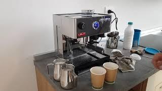 pl042emi  lelit  latte,cappuccino macchina da caffe' combinata compatta