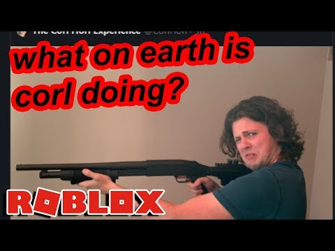 roblox youtuber corl scared everyone by returning with