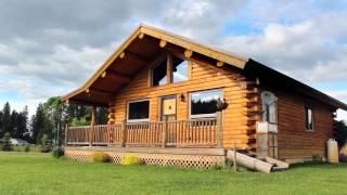 Green Valley Rancher 24x32 Log Home