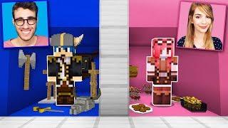 Minecraft ITA - LA STANZA DI STEF CONTRO LA STANZA DI PHERE!!