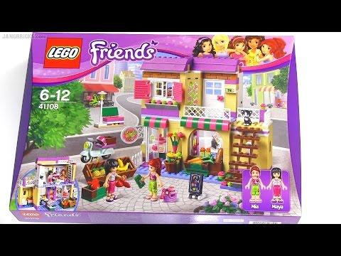 Vidéo LEGO Friends 41108 : Le marché de Heartlake City