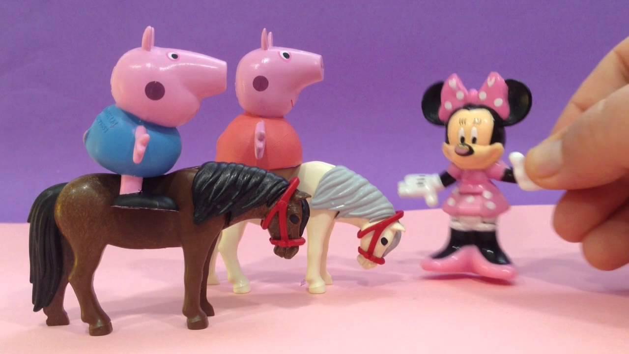 Peppa Pig y la carrera de caballos