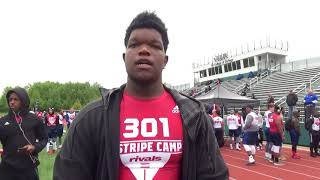 2018 Rivals Camp: Perspectives 2019 DL Dominic Moore