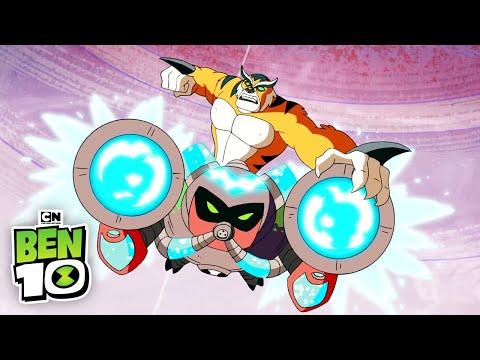 Ben 10 | Dr. Animo Ben Team Up | Cartoon Network