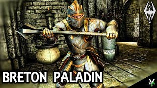 ARTIFACTS- THE BRETON PALADIN: Unique Armor/Weapon Mod!!- Xbox Modded Skyrim Mod Showcase