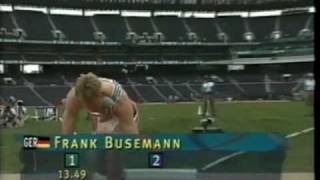 Frank Busemann- Atlanta 1996, about first day