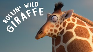 ROLLIN' WILD - 'Giraffe ' - what if animals were round?