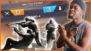 DOWN 3 ROUNDS TO ZERO! EPIC COMEBACK TIME! - Rainbow Six Siege | (RB6 Siege Multipayer)