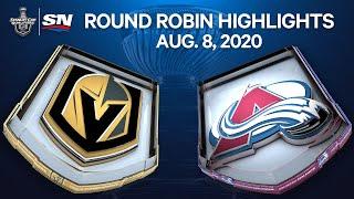 NHL Highlights | Golden Knights Vs. Avalanche – Aug. 8, 2020