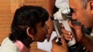 Eye Camp at Sri Rakum School for the blind