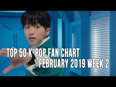 Top 50 K-Pop Songs Chart - February 2019 Week 2 Fan Chart