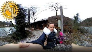 360: Форелевое хозяйство | Ущелье Ахцу | Река Мзымта Сочи | Видео 360