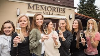Czech Miss 2017 Finalist Attend Wine Testing Event