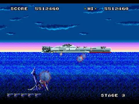 Super Thunder Blade (Mega Drive/Genesis) Gameplay: (3/4)