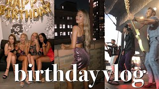 21st Birthday Vlog: Front Row For Jonas Brothers & Partying In Nyc | Maddie Cidlik