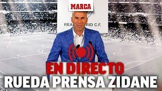 Rueda De Prensa De Zidane Tras Su Fichaje Con El Real Madrid I MARCA