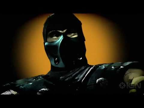 Mortal Kombat - Scorpion trailer