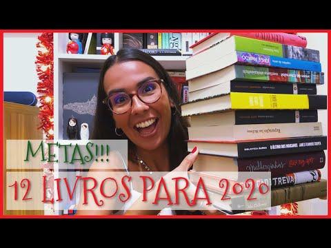 12 LIVROS PARA 2020 E UM BATE-PAPO SOBRE METAS LITERÁRIAS | Ana Carolina Wagner